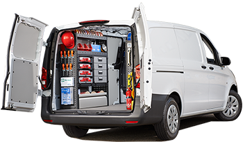 Ford Transit Connect >> Modul-System | Complete Van Racking Systems