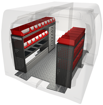 Van Racking Design Model